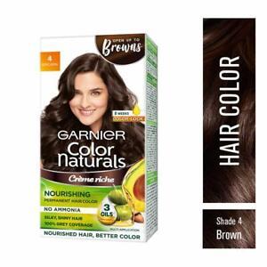 Garnier Color Naturals Creame Hair Color Brown Shade 70ml + 60gm