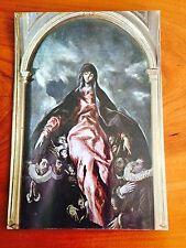 Art Postcard GRECO Madonna of Charity - free USA shipping