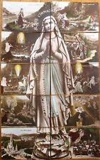 'Immaculate Conception' 1908 French Puzzle/Novelty SET of Ten Fantasy Postcards