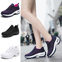 Autumn Flying Woven Cushion Women Shoes Casual Thick-soled Wild Rocking Shoes #