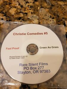 Christie Comedies #5 Fool Proof & Green As Grass DVD