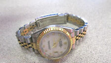 18k Gold & Stainless Steel Woman's Rolex Date Just Watch Fancy Dial  Make Offer
