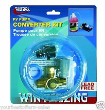 Valterra RV Campers Lead Free Converter RV Pump RV Winterizing Kit Trailer Parts