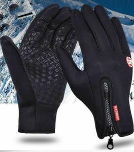 Gloves Winter Warm Windproof anti-Slip Touch Screen Waterproof Heat Screen