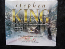 Misery (Stephen King) CD-Audio Book 12 CD read by Lindsay Crouse New Sealed Rare
