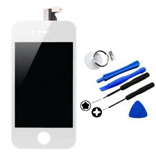 White Front LCD Display Touch Screen Digitizer Assembly For iPhone 4S + Tools