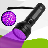 51 LED UV Flashlight Torch Light Lamp Ultraviolet Blacklight Aluminum 395 nM EL