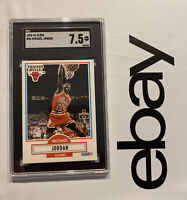 Michael Jordan SGC 7.5 NBA Fleer 1990 #26 Card Collector Man Cave Chicago Bulls