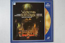 Monteverdi Vespro della beata Vergine John Eliot Gardiner 1 Disc LD6