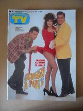 TV SORRISI E CANZONI n°4 1993 Pamela Prati Mietta Marcella Bella Clinton  [G795]
