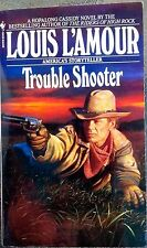 book trouble shooter Louis L'Amour  PeperBack