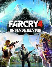 Far Cry 4 Season Pass (PC, 2014) Digital Version No Discs