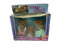 TEDDY BEAR STORIES Fuzzy BEARS Calico Critters Sylvanian BOXED BNIB STICKERS