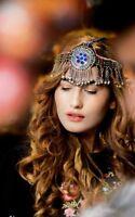 Maatha Patti Kuchi Pashtun Headdress , Afghani Belly dance Jewelry