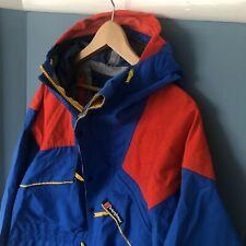 Tri Colour Trango Extrem Berghaus Gortex Jacket. Vintage 1980's. Gortex. Large.