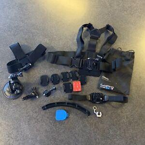 GoPro chesty mounts accessories bundle