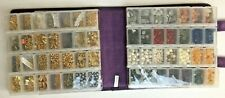 Huge Lot Jewelry Making Supplies Stones Semi Precious Beads w/ Craft Mate Book!
