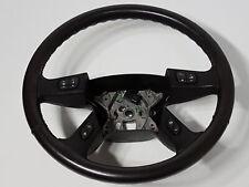 2003 GMC Envoy XL SLT Leather Black Steering Wheel & Controls Ebony OEM