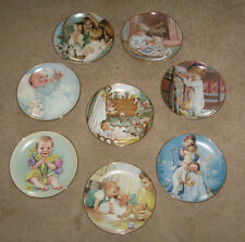 Young Innocence 8 Collector Plates Danbury Mint Kathy Lawrence Mothers Day