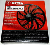 Spal 30102048 Pusher Fan (16In High Performance ; Curved Blade; For Use W/ 30Amp