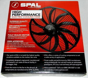 **Lowest Offer** New Spal 30102048 16 Inch Electric Curved Blade Pusher Fan