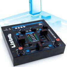 Pupitre de mixage D.J. party musique mix USB/MP3 crossfading talkover MX-200USB
