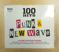 Various Artists : 100 Hits: Punk & New Wave CD Box Set 5 discs (2011)