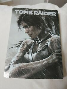 tomb raider 2013 steelbook only (rare)