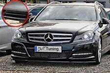 Spoilerschwert Frontspoiler ABS Mercedes Benz C-Klasse W204 ABE schwarz glänzend