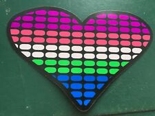 BEST HEART   ,,,,  SOUND ACTIVATED FLASHING LED PANEL  1