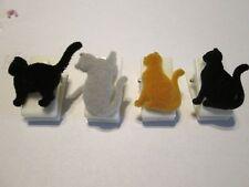 PAPER CLIP BINDER 4 PC CAT,VETERINARIAN,OFFICE,TEACHER,MEDICAL,MAGNET,BOOKMARK
