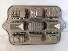 Nordic Ware 3D Train Cake Mould Tin Pan Aluminium Bakeware
