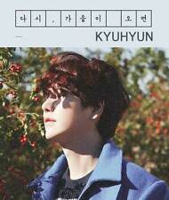 KYUHYUN 2ND MINI ALBUM [ 다시, 가을이 오면 ]   SUPER JUNIOR KYU HYUN NEW KPOP