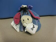 Disney SUGAR PLUM FAIRY EEYORE Mini Bean Bag Plush Retired With Tag