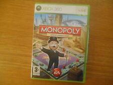Monopoly Editions Classique et Monde Jeu XBOX 360 FR Complet