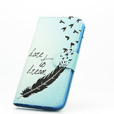 Wallet Magnetic Patterned Floral Flip Leather Stand Case Cover for Phone Nokia LUMIA 640 Style 10 Hot Air Balloon