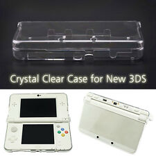For New Nintendo 3DS PC Clear Crystal Hard Shell Case Slim Protective Skin Cover