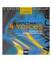 """4 voices - CD Edition. Die klingende Chorbibliothek. CD 4. 1 AudioCD"""