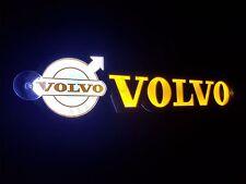 NEW LED 3D VOLVO WITH LOGO  24V/5W YELLOW LED LIGHT ILLUMINATING NEON PLATES