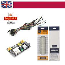 MB-102 Power Supply 830 Tie Points Soilderless PCB Breadboard  65PCS Jumper Pi
