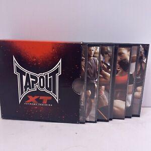Tapout XT Extreme Training DVD Box Set 6 Discs, Fitness, WorkoutA2