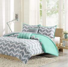Gray Geometric Twin Comforters Bedding Sets For Sale Ebay