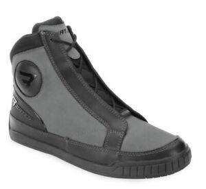 Bates Men's Taser Motorcycle Boots Gray/Black