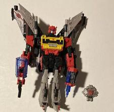 Transformers Universe 2 Voyager Blaster w Blockrock Complete Used