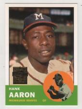 2000 Topps Hank Aaron Reprint #10 Milwaukee Braves BV$3 Insert