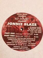 "Johnnie Blaze- No Doubt/ Skillz 12"" Riddim Track Drum and Bass Vinyl"