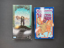 The Princess Bride (1987) VHS and BOOK LOT