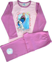 FR46 Girls Disney Frozen Anna, Elsa & Olaf  Pyjamas Sizes 5 to 12 Years