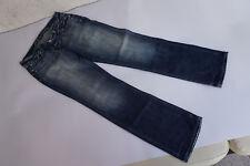 LTB 5694 Damen Jeans Hose Low Rise 32/34 W32 L34 stonewashed blau used look #4k