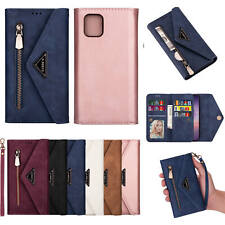For Samsung A21S A71 A51 5G S20+ Note10 Lite Leather Wallet Card Slot Clip Cover